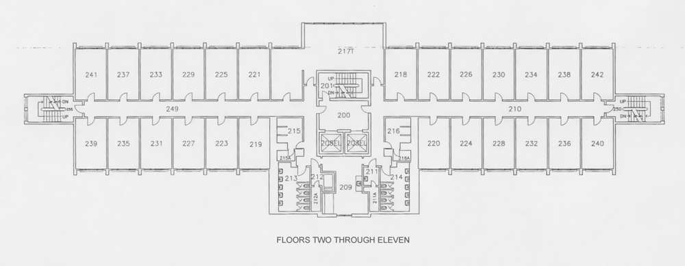 house floor plans no hallways. Floor Plans Orton  at WSU