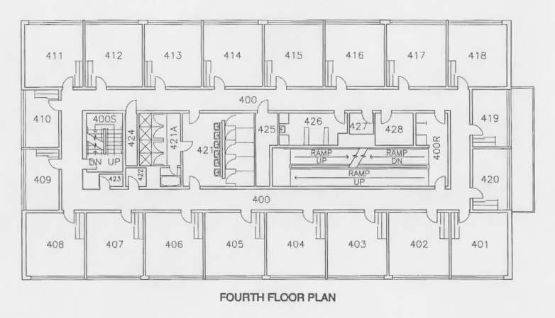 Floor Plan For College Single Dorm With Living Room